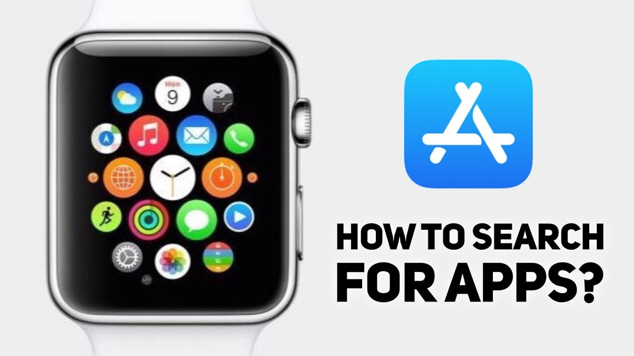 HOW TO SEARCH FOR APPLE WATCH APPS ON APP STORE | HOW TO FIND BEST NEW  APPLE WATCH APPS ON APP STORE