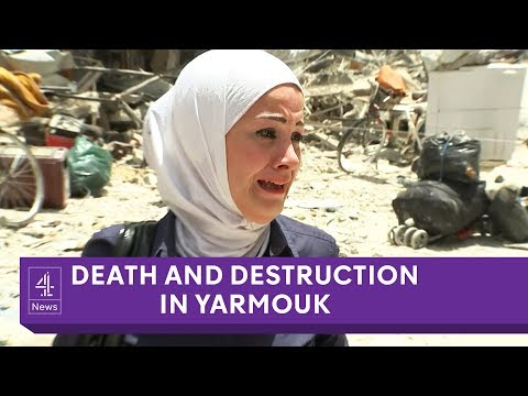 Death and Destruction in Yarmouk: Inside Syria's largest Palestinian refugee camp