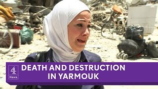Death And Destruction In Yarmouk Inside Syrias Largest Palestinian Refugee Camp