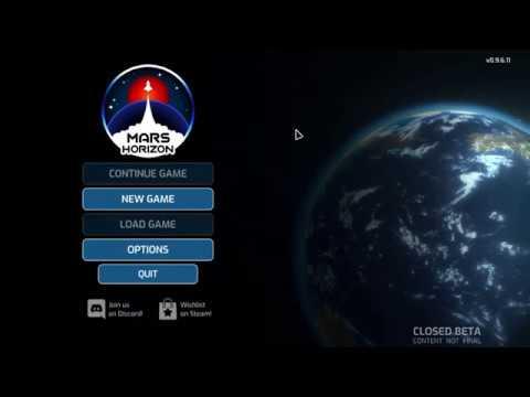 Mars Horizon Closed Beta: No Linux Support Who?  