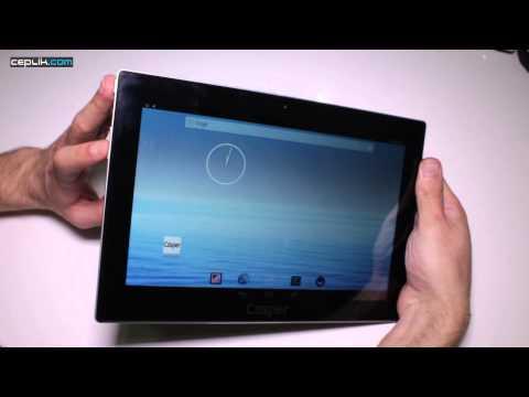 Casper VIA T5 3G Tabletinde Ekran Görüntüsü Nasıl Alınır?