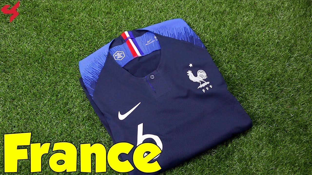 cheap for discount ea0b8 9c82a World Cup 2018 Nike Home France VaporKnit Pogba Jersey Unboxing + Review