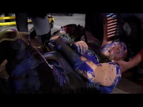 Braun Strowman Destroys Kevin Owens In A Portable Toilet Full Segment - Raw 2nd July 2018
