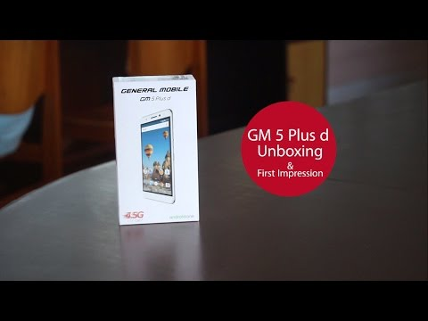General Mobile GM 5 Plus d Unboxing and First Impression