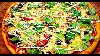 Пицца Цезарь Пицца в Духовке  Пицца Рецепт Теста