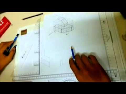 Engineering Drawing ( Basic Isometric )