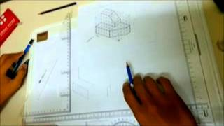 Engineering Drawing ( Basic Isometric )