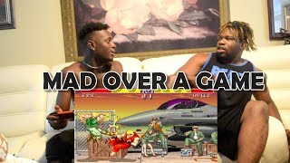 MAD OVER A GAME  (FUNNY SKIT) STREET FIGHTER 2 GAME PLAY