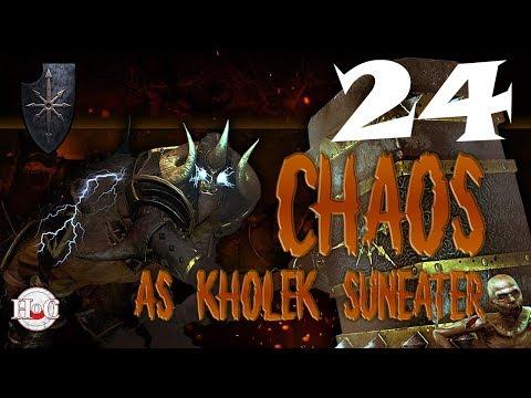 Total War Warhammer - Chaos Warriors - Kholek - Campaign 24