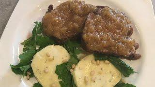 Рецепт СВИНИНА в ЯБЛОЧНОМ СОУСЕ! Очень вкусная свинина в духовке/BY Maria
