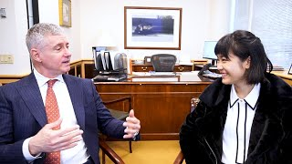 Talking Pianos + Playing Mozart with Steinway CEO Ron Losby   Tiffany Vlogs #100