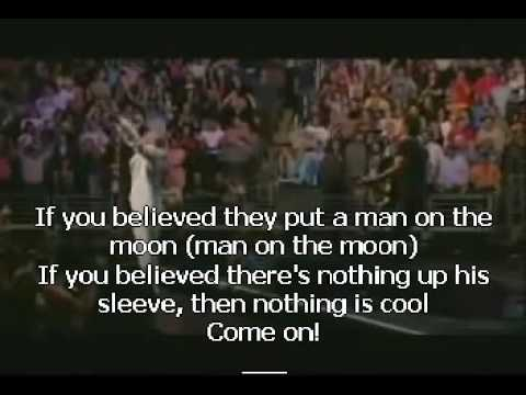 Man On The Moon - REM and Bruce Springsteen