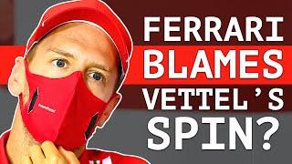 Vettel Bitter Over Strategy While Ferrari Blames His Start