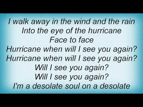 Alarm - Eye Of The Hurricane Lyrics