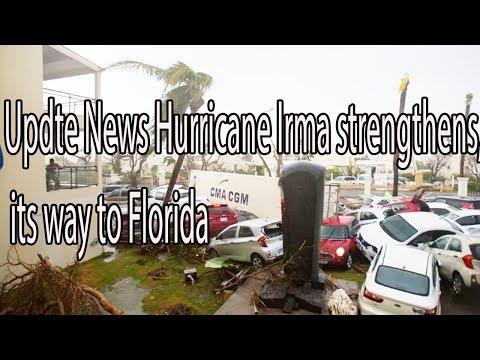 UPDATE  Hurricane Irma strengthens, its way to Florida Daily News