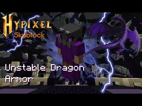 Unstable Dragon Armor Hypixel Skyblock Youtube The full set can be crafted from 240 unstable dragon fragments and is one of the eight dragon armor sets. youtube