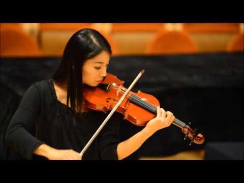 Lena Yokoyama - Prova Violino  Davide Sora 2015