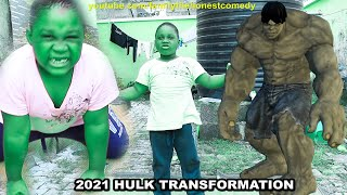 Download Marvelous Comedy - Hulk Transformation In Real Life | Fan made (Family The Honest Comedy)