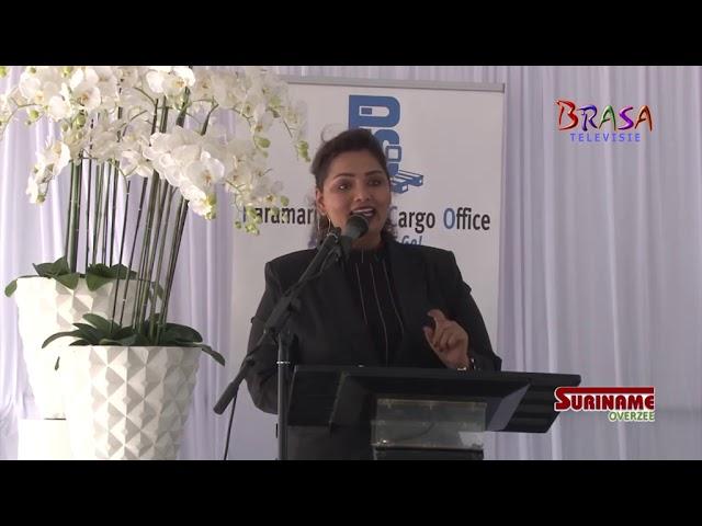Suriname Overzee-Pico de Surinam Air Cargo van Suriname Slaan Nieuwe Brug tussen A'dam en Paramaribo