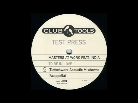 Masters At Work - feat India - To Be In Love (TiefschwarzAcoustic Mixdown)