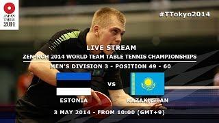 #TTokyo2014: Estonia - Kazakhstan