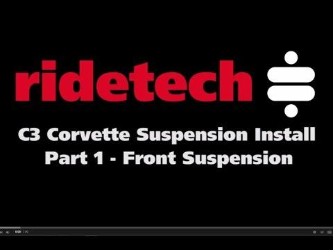 RideTech C3 (1968-79) Corvette Part 1 Front suspension Installation