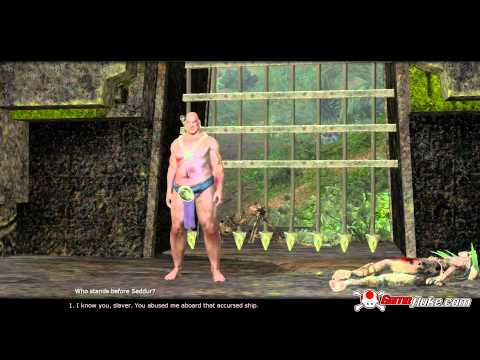 Age of Conan Unchained Demonologist Gameplay in HD