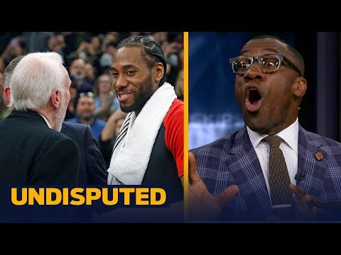 Skip and Shannon disagree on how the Spurs handled Kawhi Leonard's return | NBA | UNDISPUTED