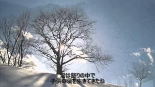 浜田省吾の『悲しみは雪のように』に 挑戦してみました。