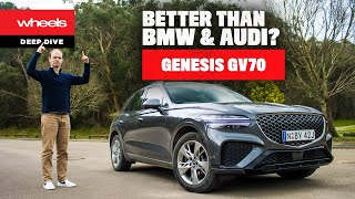 Genesis GV70 review - the BMW …