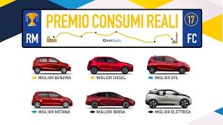 Le auto che consumano meno   Premio Consumi Reali 2017