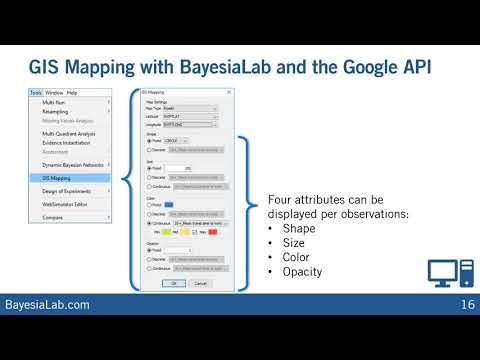 Geographic Optimization with Bayesian Networks and BayesiaLab