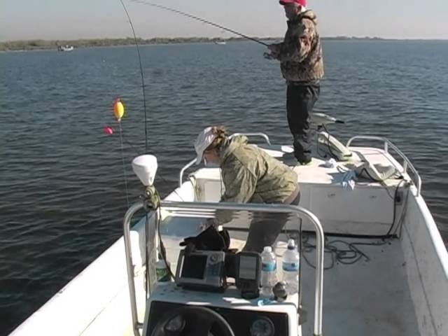 Ascension Outdoors presents speckled trout fishing with the Bayou Woman in Lake Decade