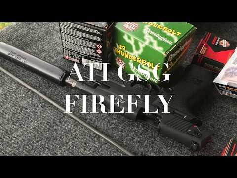 ATI GSG Firefly and Aklys Kopis Sound Suppressor