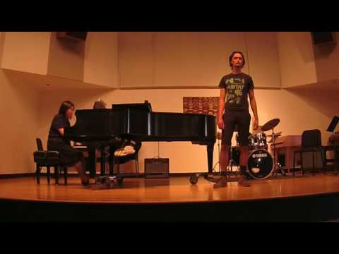 "Richard Warren Scott singing ""Fear No More"""
