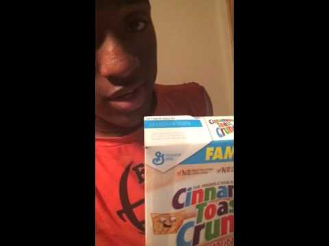 Cereal no milk song ~T-Rexx - YouTube