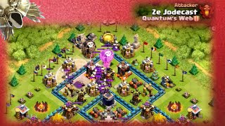 Clash of Clans | Attacked by Ze Jodecast (Clash With Ed)