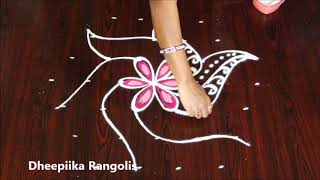 muggulu designs for varalakshmi vratham ll friday kolam designs ll latest rangoli designs