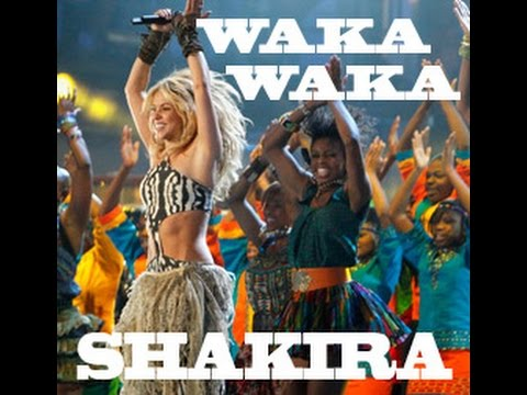 Shakira  Waka Waka  This Time for Africa 1 HOUR