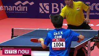 Bóng bàn nam ASIAD 2018: Trung Quốc tiếp tục thị uy | VTC Now