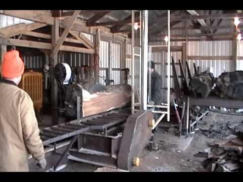 Frick Sawmill powered by Caterpillar D318