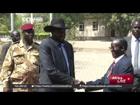Ugandan President meets South Sudanese President Kiir for peace talks