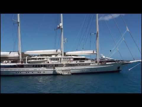 Jim Clark's Mega-Sailboat Athena