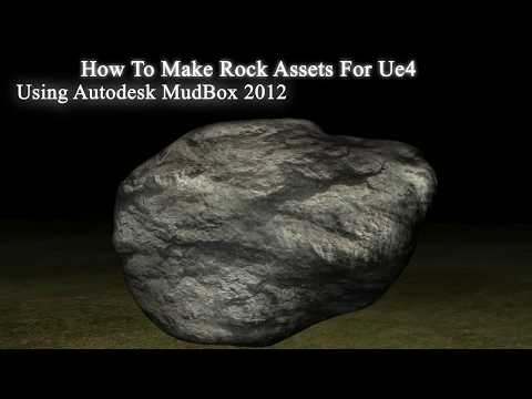 Making Rock Asset For Ue4 Using Mudbox