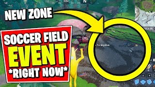 FORTNITE SOCCER RIFT ZONE EVENT *RIGHT NOW* (NEW GLITCHED ITEMS & ELIMINATIONS GAMEPLAY)