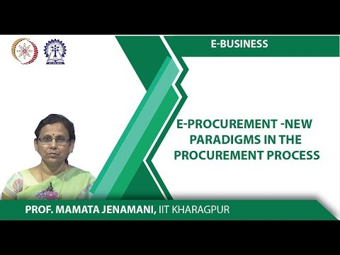E-procurement -New paradigms in the procurement process