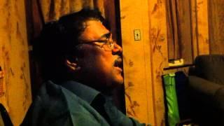 Alak Roychoudhury singing Amar Bhitor Bahire