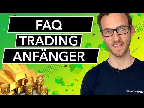 Alles, was Du als Trading Anfänger wissen musst! Traden lernen für Einsteiger