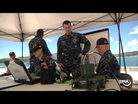 USNS  Mercy conducts Training Exercise on Guam