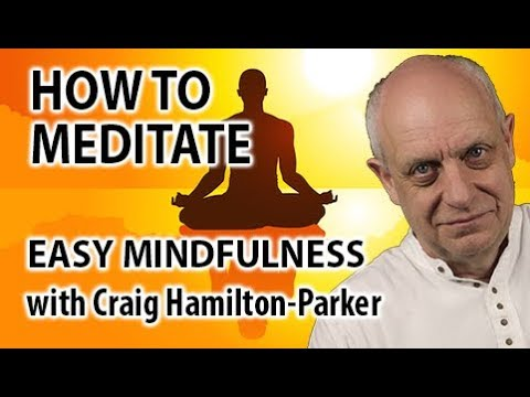 How to Meditate | Easy Technique using Mindfulness Meditation | Video